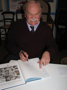 "Stuart McKay, MBE, book signing ""Mildenhall to Melbourne"""
